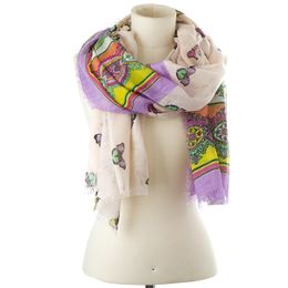 Codello Šatka Paisley And Butterflies Scarf