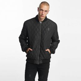 Cyprime / Bomber jacket Quilted in black