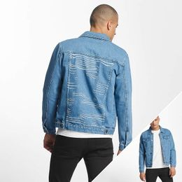 Cyprime / Lightweight Jacket Mother of Pearl in blue