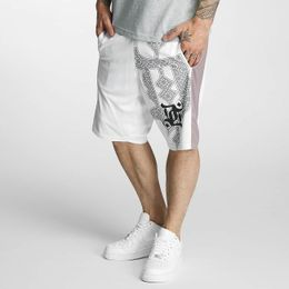Dangerous DNGRS Ornaments Shorts White
