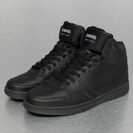 Dangerous DNGRS Small Logo Mid Sneakers Black
