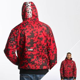 Dangerous DNGRS / Winter Jacket Orlando in red