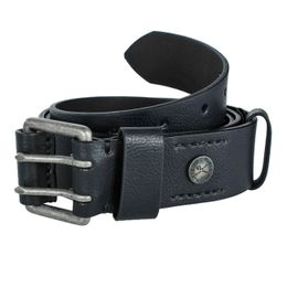 Ecko Unltd Opasok Belt Button Black