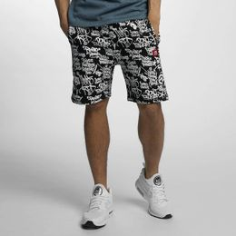 Ecko Unltd. Allover Shorts Black
