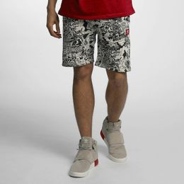 Ecko Unltd. Comic Allover Shorts Black/White