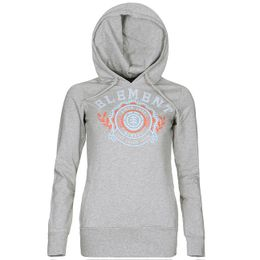 Element Mikina Approval Hoodie Grey Heather