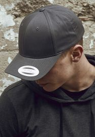 Flexfit Curved Classic Snapback charcoal