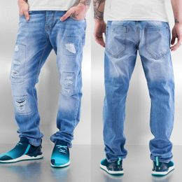 Just Rhyse Chuck Straight Fit Jeans Ice Blue