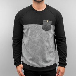 Just Rhyse Cona Pullover Jet Black