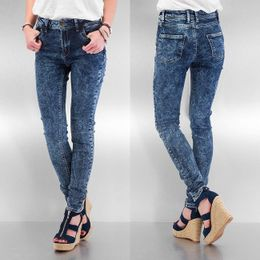 Just Rhyse High Waist Skinny Jeans Blue