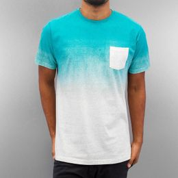 Just Rhyse Scottie T-Shirt Turquoise/Grey