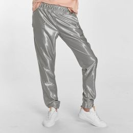 Just Rhyse / Sweat Pant Chicosa in silver colored