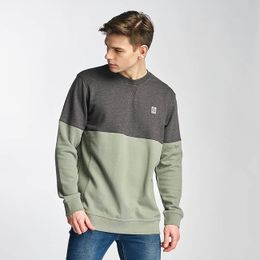 Just Rhyse Two Tone Sweatshirt Olive/Antrazit