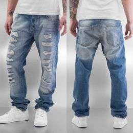 Just Rhyse Tyrees Straight Fit Jeans Light Blue