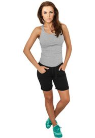 Urban classics Ladies 5 Pocket Sweatshorts black