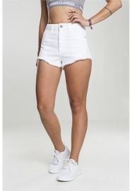 Urban classics Ladies Denim Hotpants white