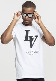 Mister Tee Love Vibes Only Tee white