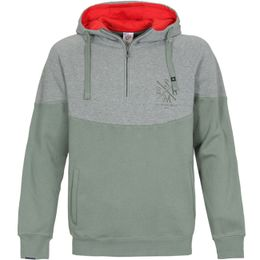 Sir Benni Miles Mikina Clifton Zip Hoody Grey