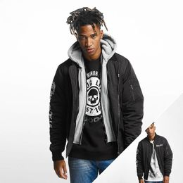 Thug Life / Bomber jacket 2 in 1 in black