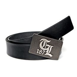 Thug Life Opasok Leather Belt TL187 Black