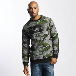 Thug Life / Pullover TLCN115 in camouflage