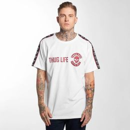 Thug Life / T-Shirt Lux in white