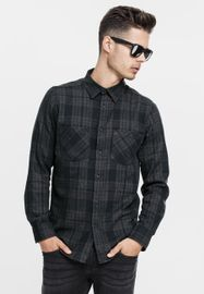 Urban Classics Checked Flanell Shirt 2 cha/blk