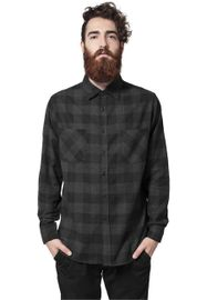 Urban Classics Checked Flanell Shirt blk/cha