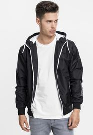 Urban Classics Contrast Windrunner blk/wht