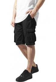 Urban Classics Fitted Cargo Shorts black
