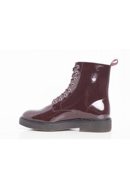 Lace Boot burgundy